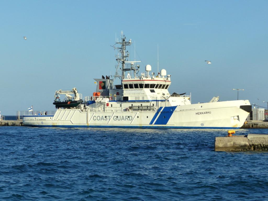 Nicht das einzige Schiff der Küstenwache auf Kos.